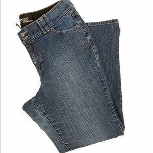 Boot Cut Blue Jeans Size 16
